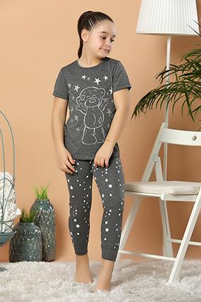 Kız Çocuk Pijama Takımı 3701-20Y66001H09