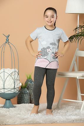 Kız Çocuk Pijama Takımı 3770-20Y66002H09