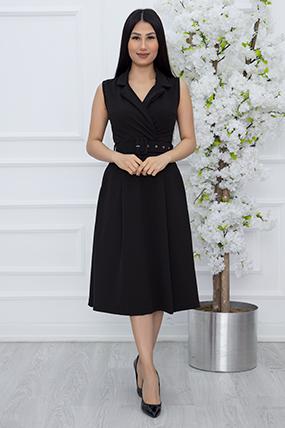 Bayan Klasik Yaka Kolsuz Elbise 2508-20Y69015H16