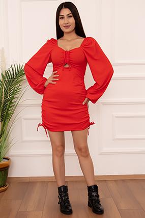 Bayan  Yanı Tünelli LPS460 Elbise-20Y69083H16