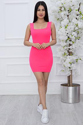 Bayan Kare Yaka Triko Elbise NT1008-21Y69012H79