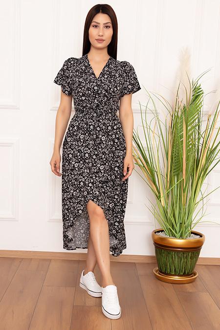 Bayan Kruvaze Anvelop DKS10 Elbise-20Y69023H16
