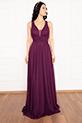Ruth 13239 Simli Tül Uzun Elbise / MURDUM